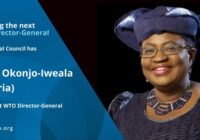 FIRST WOMAN AND THE FIRST AFRICAN TO LEAD THE WORLD TRADE ORGANISATION