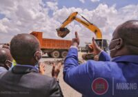 GROUND-BREAKING CEREMONY OF AN ULTRA-MODERN SECURITY COMMAND CENTRE IN KENYA