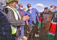 GROUND BREAKING CEREMONY FOR THE PROPOSED KANGARI MODERN MARKET IN KENYA