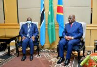 PRESIDENT OF BOTSWANA IN DR CONGO TO STRENGTHEN BILATERAL COOPERATION