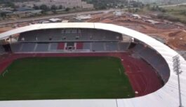 STADE DE YAMOUSSOUKRO CONSTRUCTION IS NEARING COMPLETION