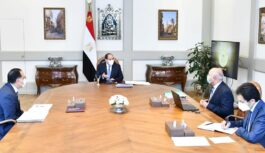 EGYPTIAN PRESIDENCY DISCUSSES DEVELOPMENT OF ROADS, RAILWAYS AND SEAPORTS