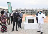 GROUND BREAKING CEREMONY FOR MULTI-BILLION PHARMACEUTICAL FACILITY IN UGANDA