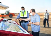 PRESIDENT EL-SISI INSPECTS ROAD CONSTRUCTION THAT WILL SUPPORT ONGOING GIANT NATIONAL PROJECTS