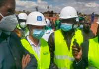 PRESIDENT EDGAR INSPECTS CONSTRUCTION WORKS OF THE WATER SUPPLY SANITATION INFRASTRUCTURE, ZAMBIA
